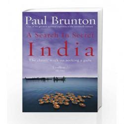 A Search In Secret India by Paul Brunton Book-9781844130436