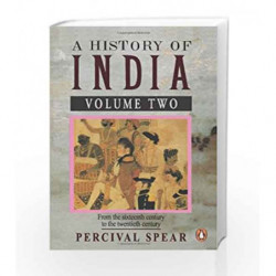 002: A History of India - Vol. 2 by Spear, Percival Book-9780140138368