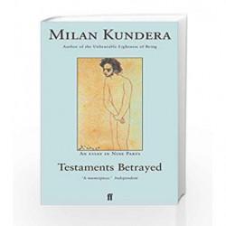 Testaments Betrayed by Milan Kundera Book-9780571173372