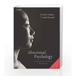 Abnormal Psychology An Integrative Approach by V. Mark Durand Book-9788131500644