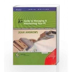 A+Guide to Managing & Maintaining Your PC with CD by Jean Andrews Book-9788131502594
