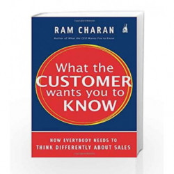 What The Customer Wants You To Know by Ram Charan Book-9780143065685