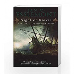 Night Of Knives: A Novel Of The Malazan Empire by Ian C Esslemont Book-9780553818291