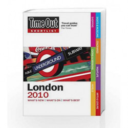 Time Out Shortlist London 2010 by Time Out Guides Ltd Book-9781846701313