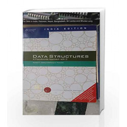 Data Structures: A Pseudocode Approach with C by  Book-9788131503140