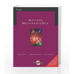 Analyzing Multivariate Data by James M. Lattin Book-9788131503232