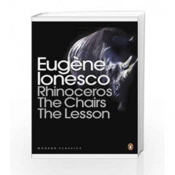 Modern Classics Rhinoceros Chairs Lesson (Penguin Modern Classics) by Ionesco, Eugene Book-9780141184296