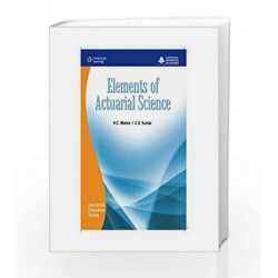 Elements of Actuarial Science by National Insurance Academy Book-9788131507537