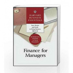 Harvard Business Essentials: Guide to Finance for Managers by NA Book-9781578518760