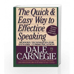 The Quick and Easy Way to Effective Speaking by CARNEGIE DALE Book-9780671724009