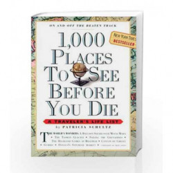 1,000 Places to See Before You Die by Patricia Schultz Book-9780761104841