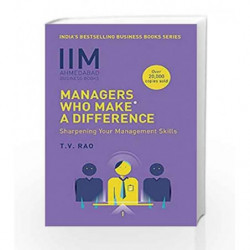 IIMA - Managers Who Make a Difference by T.V. Rao Book-9788184001372