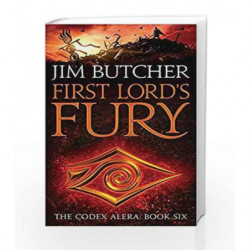 First Lord's Fury: The Codex Alera - Book 6 by Jim Butcher Book-9781841498515