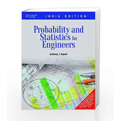 Probability and Statistics for Engineers by Anthony J. Hayter Book-9788131512784