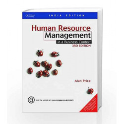 Human Resource Management In a Business Context by Alan Price Book-9788131514863