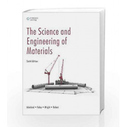 The Science and Engineering of Materials by K. Balani Book-9788131516416