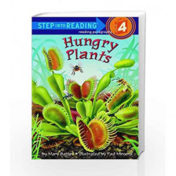 Hungry Plants (Step into Reading) by Mary Batten Book-9780375825330