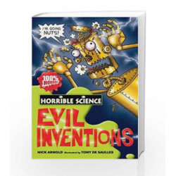 Evil Inventions (Horrible Science) by ARNOLD NICK Book-9781407109596