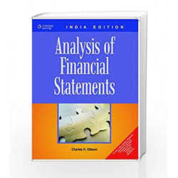 Financial Statement Analysis by Charles H. Gibson Book-9788131516843