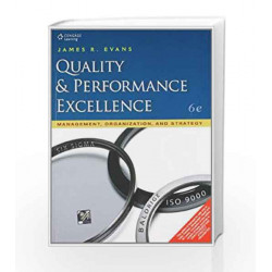 Quality & Performance Excellence by James R. Evans Book-9788131517284