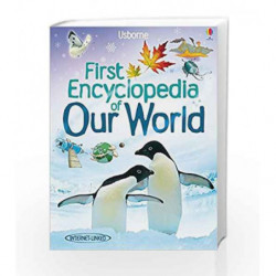 First Encyclopedia of Our World (Usborne First Encyclopaedias) by Felicity Brooks Book-9781409514305