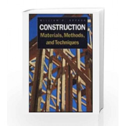 Construction Materials, Methods & Techniques: Building for a Sustainable Future by Spence Book-9788131518182