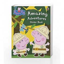 Peppa Pig: Amazing Adventures Sticker Book by NA Book-9781409312130