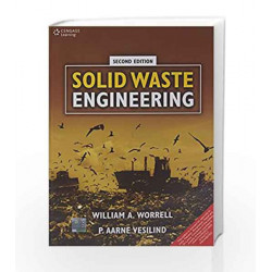 Solid Waste Engineering by William A. Worrell Book-9788131520420