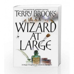 Wizard at Large: Landover - Book 3 by Terry Brooks Book-9781841495590