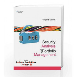 Security Analysis and Portfolio Management w/CD by Shalini Talwar Book-9788131524497