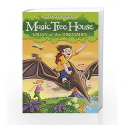 Magic Tree House 1: Valley of the Dinosaurs by Mary Pope Osborne Book-9781862305236