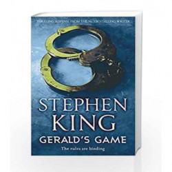 Gerald's Game by Stephen King Book-9781444707458