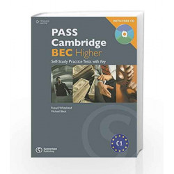 Pass Cambridge BEC Higher Practice Book by Russell Whitehead Book-9788131525500