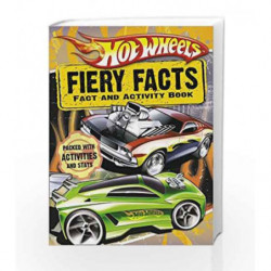 Hot Wheels Fiery Facts Book (Hot Wheels) by HARPER COLLINS Book-9780007336074
