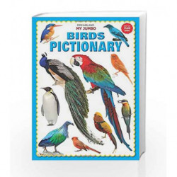 My Jumbo Birds Pictionary by Dreamland Publications Book-9789350890011