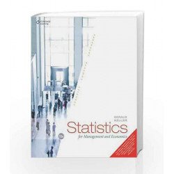 Statistics for Management and Economics by  Book-9788131528426