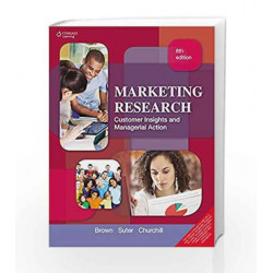 Marketing Research Customer Insights and Managerial Action by Tom J. Brown Book-9788131529409