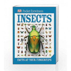 Dk Pocket Eyewitness: Insects by DK Book-9781409374589