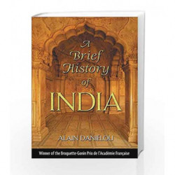 A Brief History Of India by Alain Danielou Book-9781594770296