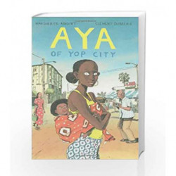 Aya of Yop City by Marguerite Abouet Book-9781897299418