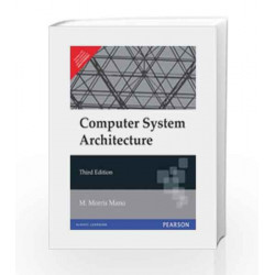Computer System Architecture, 3e by Mano Book-9788131700709