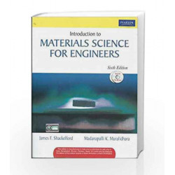 Introduction to Materials Science for Engineers, 6e by SHACKELFORD Book-9788131700907