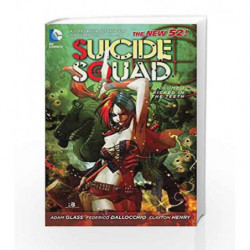 Suicide Squad - Vol. 1: Kicked in the Teeth (The New 52) by Adam Glass Book-9781401235444