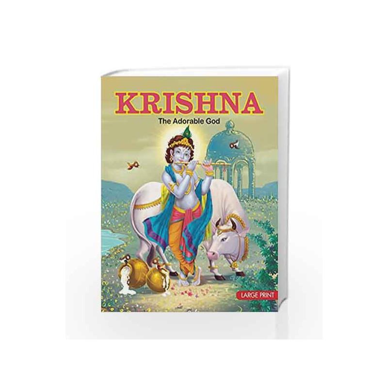 Large Print: Krishna by Sunita Pant Bansal Book-9788187108313