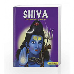 Large Print: Shiva by Om Books Book-9788187108375