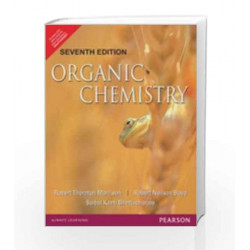 Organic Chemistry, 7e by Morrison   Boyd & Bhattacharjee Book-9788131704813