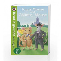 Read It Yourself the Town Mouse and the Country Mouse (mini Hc) by Ladybird Book-9780723272830