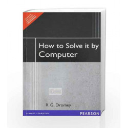 How to Solve it By Computer, 1e by DROMEY Book-9788131705629