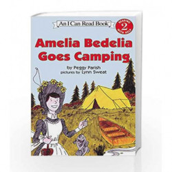 Amelia Bedelia Goes Camping (I Can Read Level 2) by Peggy Parish Book-9780812444735