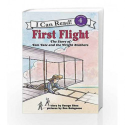 First Fligh: The Story of Tom Tate and the Wright Brothers (I Can Read Level 4) by SHEA GEORGE Book-9780064442152
